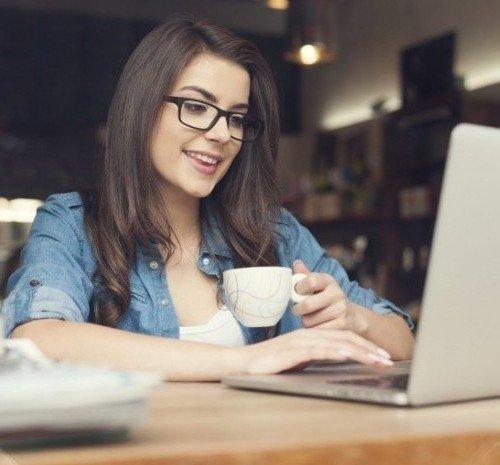девушка веб модель